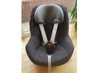 Immaculate Maxi Cosi Pearl car seat: Black and grey grid pattern. Accident Free. £65 ONO