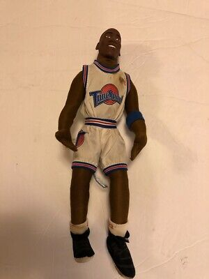 """Vintage 1996 Michael Jordan Space Jam Tune Squad 12"""" Plush Doll by Play by Play"""