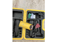 Pipe laser level - no charger