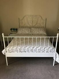 5 Months old bed, great condition £250 with mattress/ 2Ikea units £30