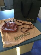Mimco leather bag Beaumaris Bayside Area Preview
