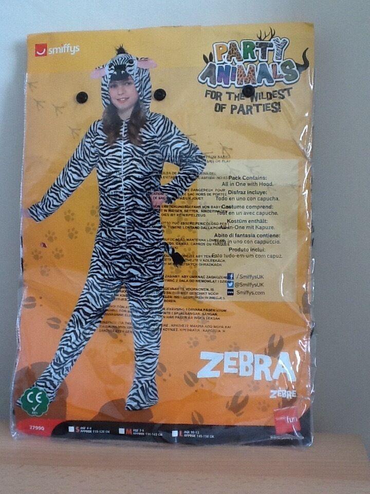 Animal costume wZebra onesie