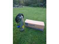 well pump, stainless steel submersible, Ebara Idrogo M40/8A 48m head with float switch