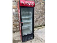 coke single retail fridge