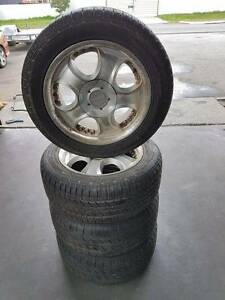 17 Inch Aftermarket Alloy Wheels And Tyres Suit Commodore Bayswater Bayswater Area Preview