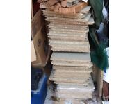 Around 50 loft boards for sale some new some used but in good condition. Lifted for loft room.