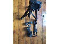 Canon 450d (mint condition), 35-80mm lens, 50mm lens, tripod, battery x 2
