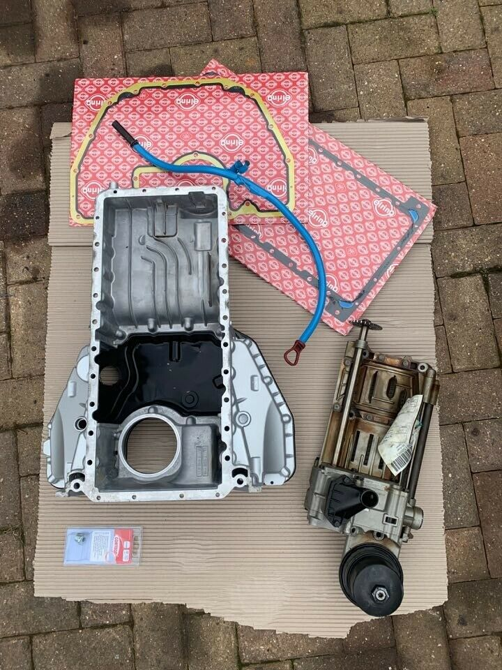 Rear Oil Pan Oil sump and Oil pump with gaskets v8 M60 M62 S62 swap in BMW  E36 | in Rugby, Warwickshire | Gumtree