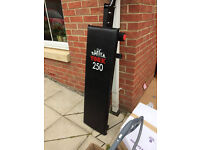 Exercise bench york 250 for sale