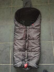 Sleeping bag for pushchair