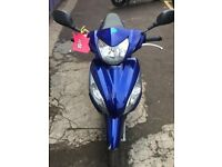 VISION 110cc 2012 BLUE IN VERY GOOD CONDITION FOR £1200