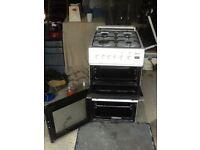 Beto double oven gas cooker
