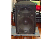 "PAIR OF KAM Z SERIES PA 18"" 700Watt BASS SPEAKERS WEDGE SHAPE BOX DJ STARTER SPE"