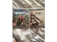 PS3 Games Far Cry 4 and Final Fantasy
