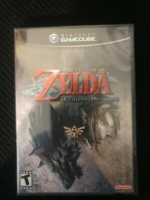 Legend of Zelda Twilight Princess GameCube new sealed- near mint condition