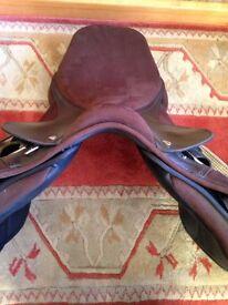 Pony Thorowgood XX wide saddle