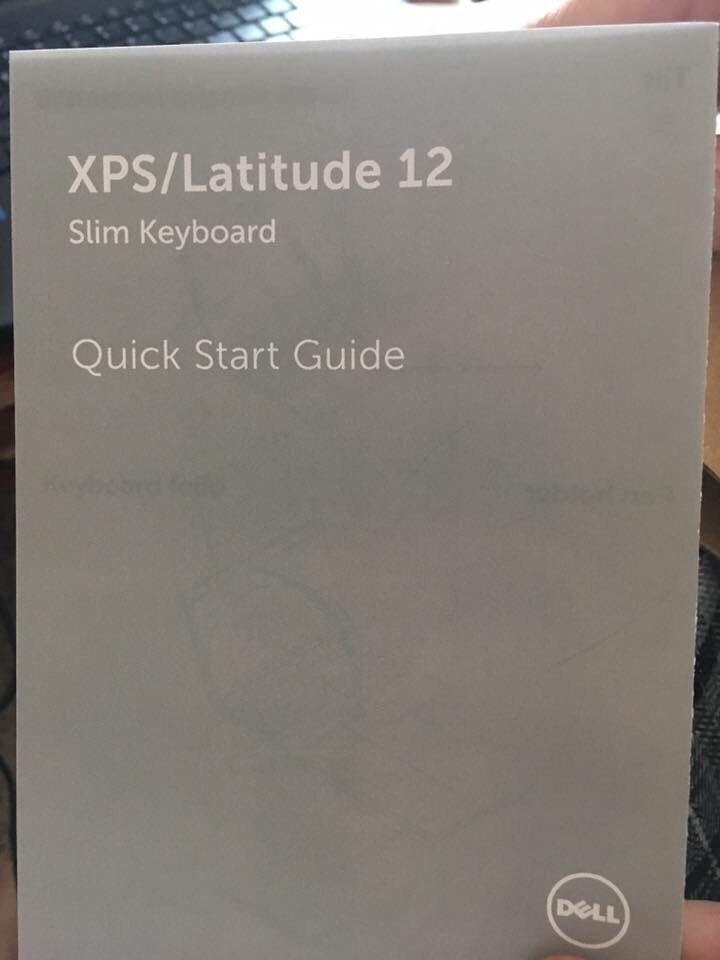 DELL XPS LATITUDE 12 slim keyboard