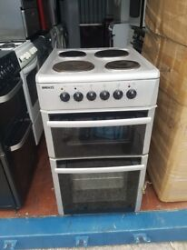 Silver 'Beko' Electric Cooker - Good Condition / Free local delivery