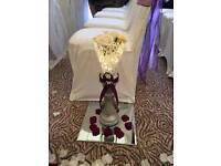 8 Wedding vases/centrepieces