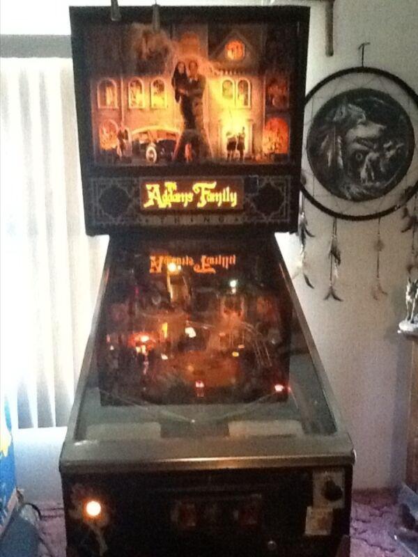 Adams Family values pinball game Bally 91