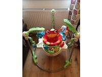 Fisher Price Jungle Jumparoo and Play mat