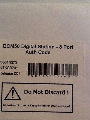 Nortel Bcm50 Digital Station-8 Port Authorization Code Ntkc0241