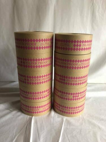 Heavy Duty Reinforced Pilfer Proof gummed shipping box tape - 70mm x 450ft each