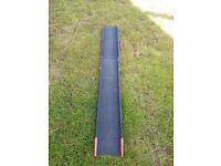Motorcross extendable loading ramp
