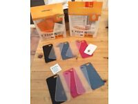 iPhone 6 & 6s phone cases, 2 packs of 5. Screen protectors have gone. All brand new. £6 the lot. Can