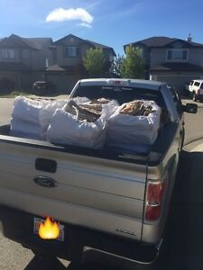 5 - XXL Bags of Birch Firewood+Small Bag of Pine-$160
