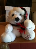 Sears 2002 Collectable Christmas Small Bear