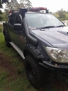 Snorkel Installed Toyota HiLux 2005 - 2015 25 26  SR SR5 4WD N 70 Bethania Logan Area Preview