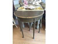 Lovely Demi Lune Card Table