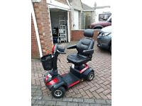 Very Smart Envoy Drive Mobility Scooter, fully serviced, 8mph highway capability.