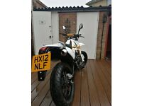 Pulse adrenaline 125cc motorbike/motorcycle