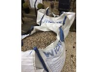 2 bulk bags of ballast free for collection