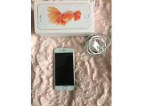 APPLE I PHONE 6s ROSE GOLD 16gb IN EXCELENT CONDITION