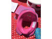Disney Minnie Mouse Toilet Seat & Step