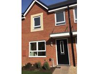 2 bed new build house with garden and 2 parking spaces