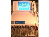 CACI White Quantum Machine excellent condition Colour Monitor with Firming Gel Concentrate
