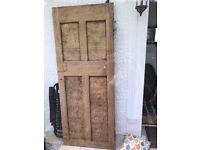 Very solid interior 4 panel door