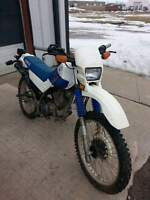 1992 yamaha serow XT 225 Enduro