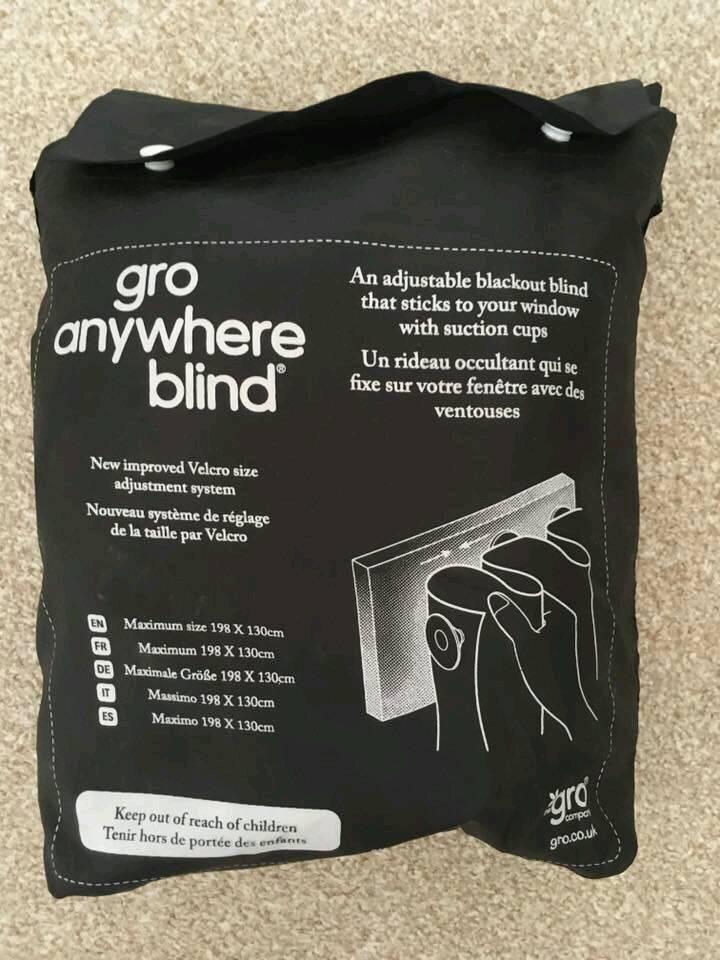 Gro Portable Blackout Blind
