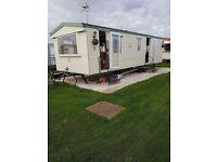6 birth caravan to rent Ingoldmells close to beach and fantasy island
