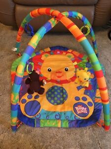 Play mat, exersaucer, shopping cart cover and more