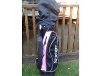 Slazenger Panther Pink Ladies Golf Set
