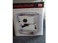 Morphy Richards Roma pump Espresso Coffee Maker