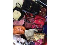 **GRADE A** Second Hand Handbags Wholsale in big quantity contact MIXED UK QUALITY