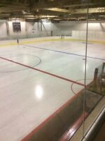Ice Time at Vonda Memorial Rink
