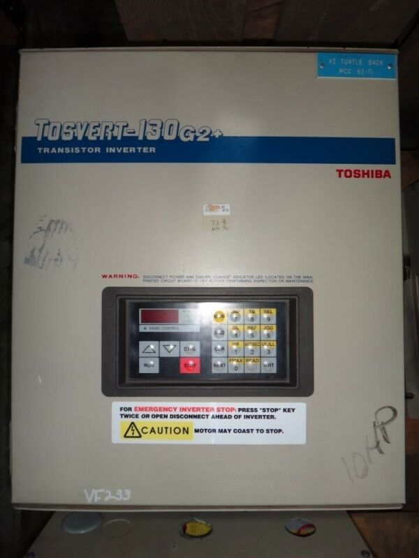 Toshiba Tosvert 130 G2+, 10HP Variable Speed Drive
